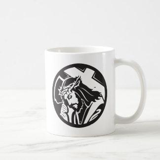 Jesus Christ  Cross Icon Coffee Mug