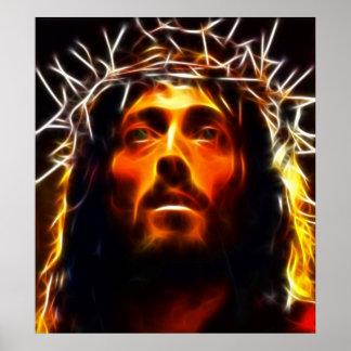 Jesus Christ Crucifixion Poster