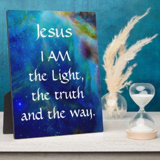 Jesus Christ Display Plaques