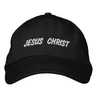 Jesus Christ Embroidered Hat