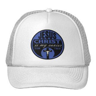 Jesus Christ is My Savior(Blue) Cap