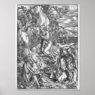 Jesus Christ on the Mount of Olives Poster