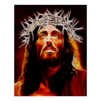 Jesus Christ Our Savior Poster