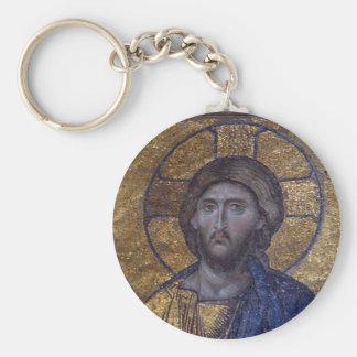 Jesus Christ Pantocrator Key Ring