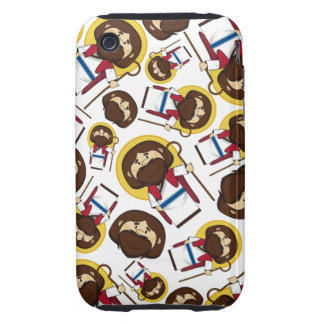 Jesus Christ Patterned iphone Case Tough iPhone 3 Cover
