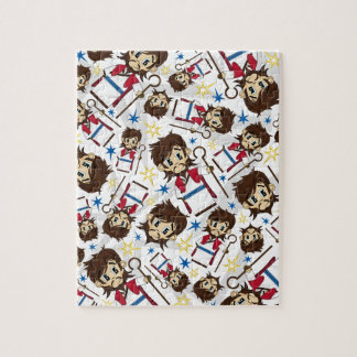 Jesus Christ Patterned Jigsaw Puzzle