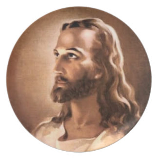 Jesus Christ Plate