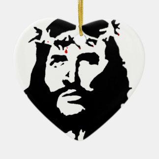 jesus-christ-revolution ceramic heart decoration