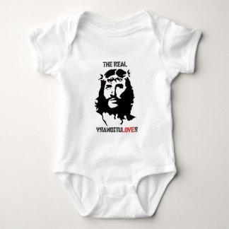 jesus-christ-revolution-christian easter christmas baby bodysuit