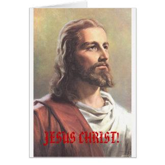 JESUS CHRIST! superstar christmas card