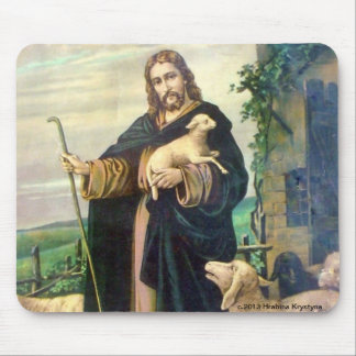 JESUS CHRIST THE GOOD SHEPHERD MOUSEPAAD MOUSE PAD