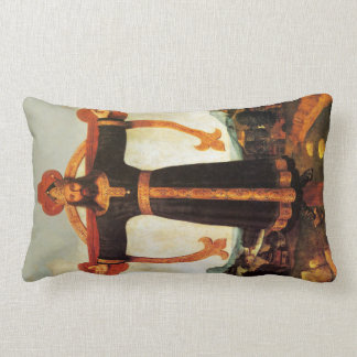 Jesus Christ the King The Lords Prayer Pillow