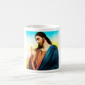 Jesus Christ The Lamb of God Vintage Basic White Mug