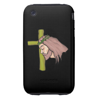Jesus Christ Tough iPhone 3 Covers