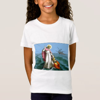 Jesus Christ Walks on Water T-Shirt