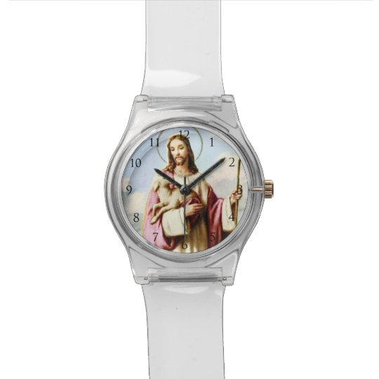 Jesus Christ Watch_With Numbers Watch