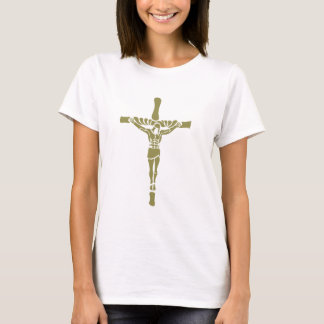 JESUS CHRIST- White/Gold T-Shirt