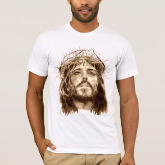 Jesus Christ with a Crown of Thorns T-Shirt