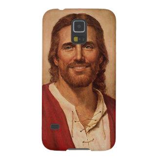 Jesus Christ's Loving Smile Galaxy S5 Cover