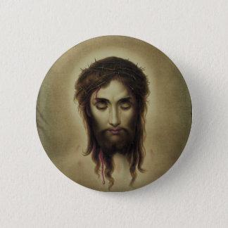 Jesus Christus by Kurz & Allison (1880) 6 Cm Round Badge