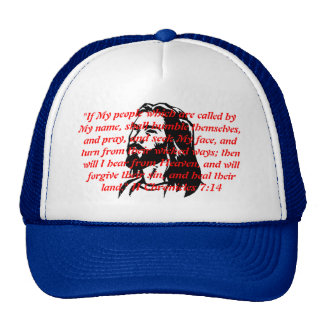 """jesus-clip-art, """"If My people which are called ... Trucker Hats"""