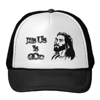 jesus-clip-art, JESUS, IS, GOD Trucker Hats