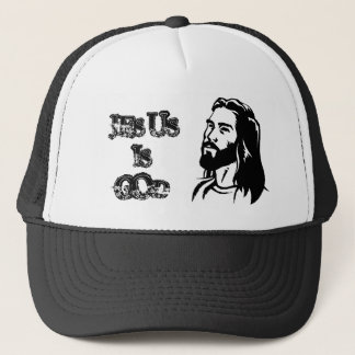 jesus-clip-art, JESUS, IS, GOD Trucker Hat