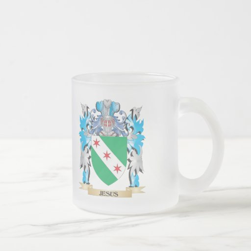 Jesus Coat of Arms - Family Crest Coffee Mug
