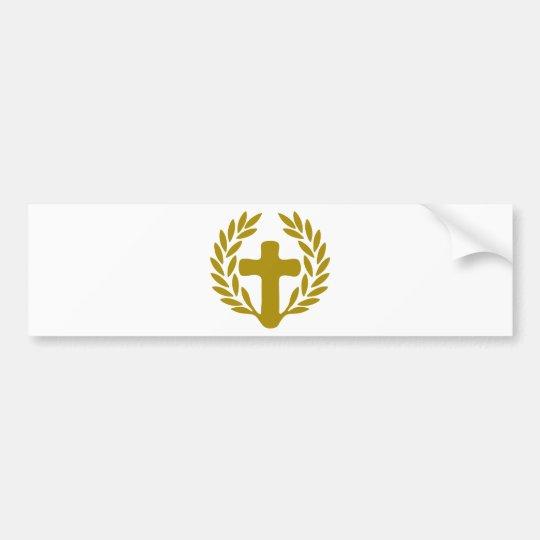 jesus-corona-radici.png bumper sticker