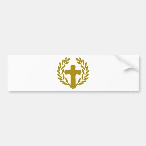 jesus-corona-radici.png car bumper sticker