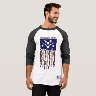Jesus Country Tattered Flag T-Shirt