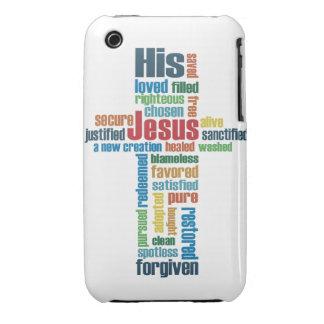 Jesus Cross iPhone 3 Case-Mate Cases