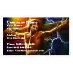 Jesus Crucifixion 2 Pack Of Standard Business Cards
