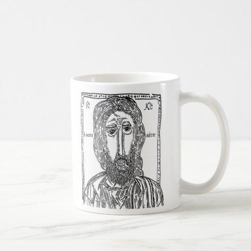 Jesus cup of coffee coffee mug