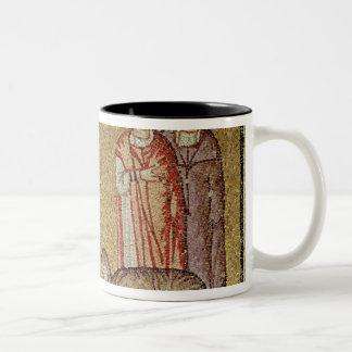 Jesus Cures the Woman who Bleeds Two-Tone Coffee Mug