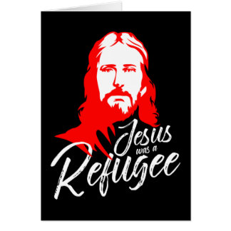 Jesus Dark Greeting Card