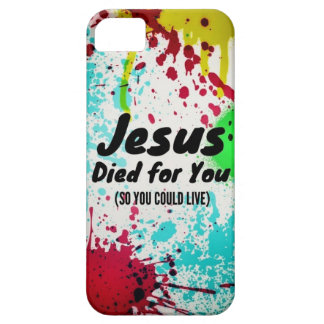 Jesus died for you! - iPhone 5 case