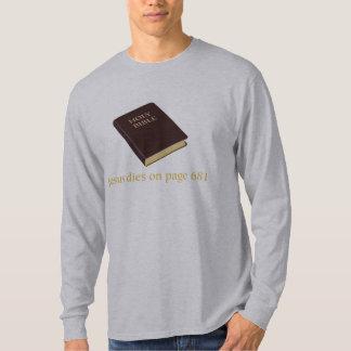 Jesus dies on page 681 T-Shirt