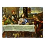 Jesus Dining at Emmaus Home