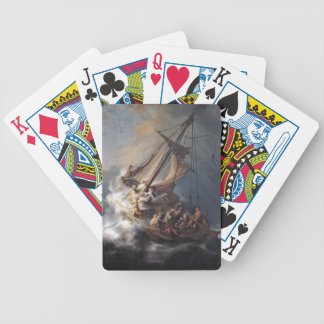 Jesus Disciples Sea of Galilee Storm Playing Cards