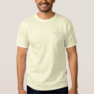 Jesus Embroidered T-Shirt
