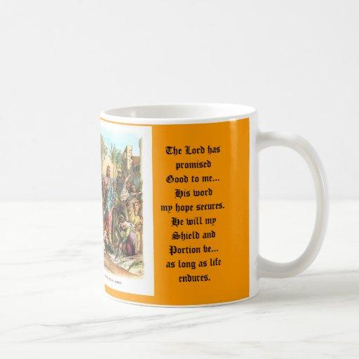 Jesus enters Jerusalem, IAMTHEWAY T... Coffee Mug