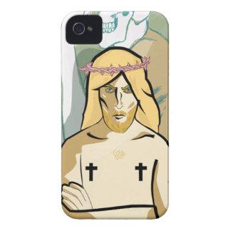 Jesus FiGhT iPhone 4 Case-Mate Cases
