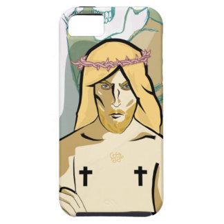 Jesus FiGhT iPhone 5 Cases