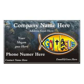 Jesus Fish Business Card - Customized