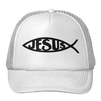 Jesus Fish (Hat Black) Cap