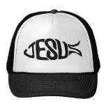 Jesus Fish Mesh Hats