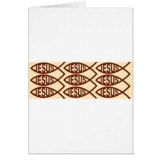 Jesus Fish Symbol Cards