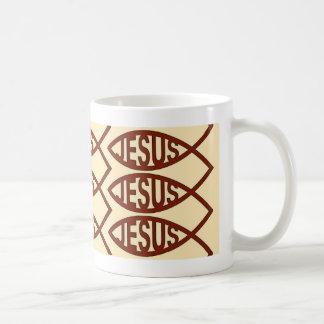 Jesus Fish Symbol Mug