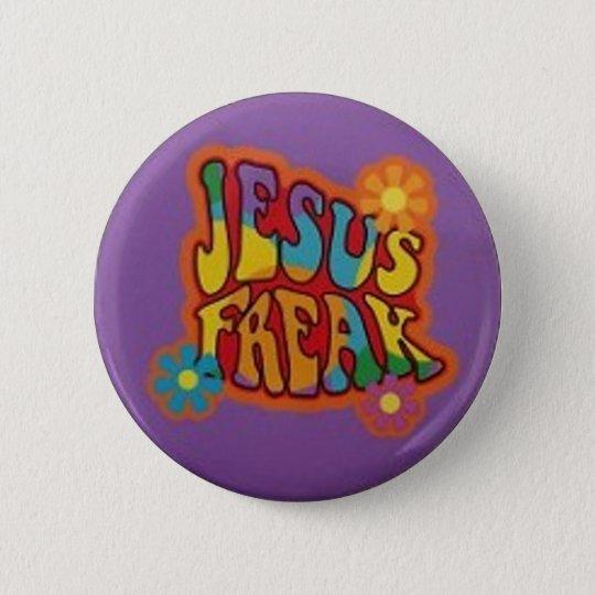 Jesus Freak 6 Cm Round Badge